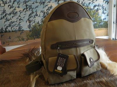 Canvas & Leather Day pack